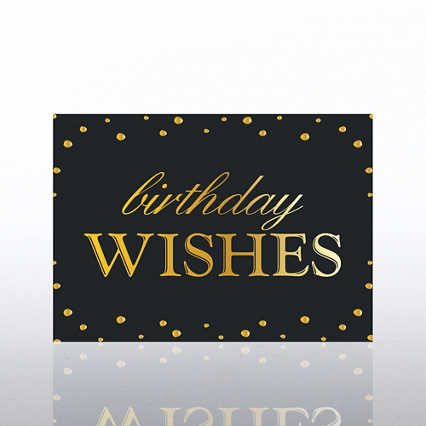 Classic Celebrations - Deluxe Foil Birthday- Birthday Wishes