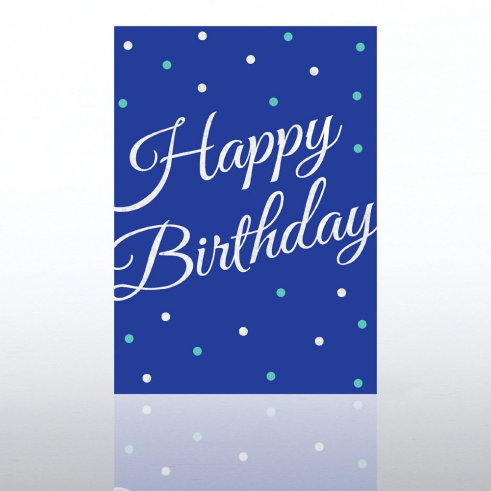 View larger image of Classic Celebrations - Deluxe Foil Birthday - Foil Dots