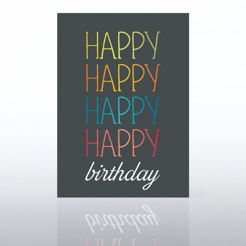View larger image of Classic Celebrations - Deluxe Foil Birthday - Multi Color