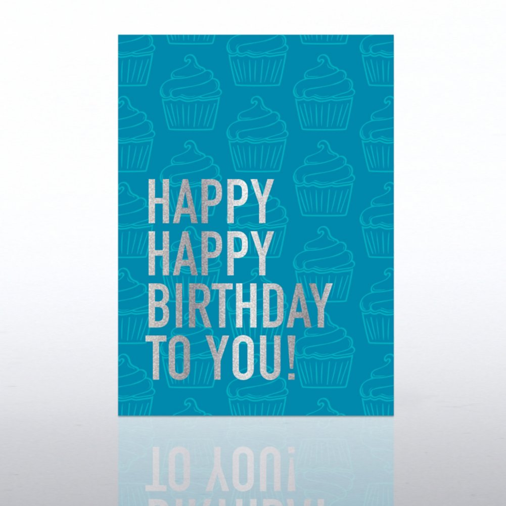 View larger image of Classic Celebrations Card - Happy Happy Birthday to You!