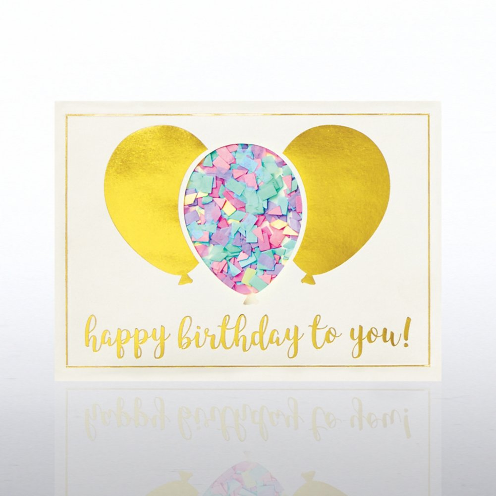 View larger image of Classic Celebrations - Confetti Cheer - Birthday Balloons