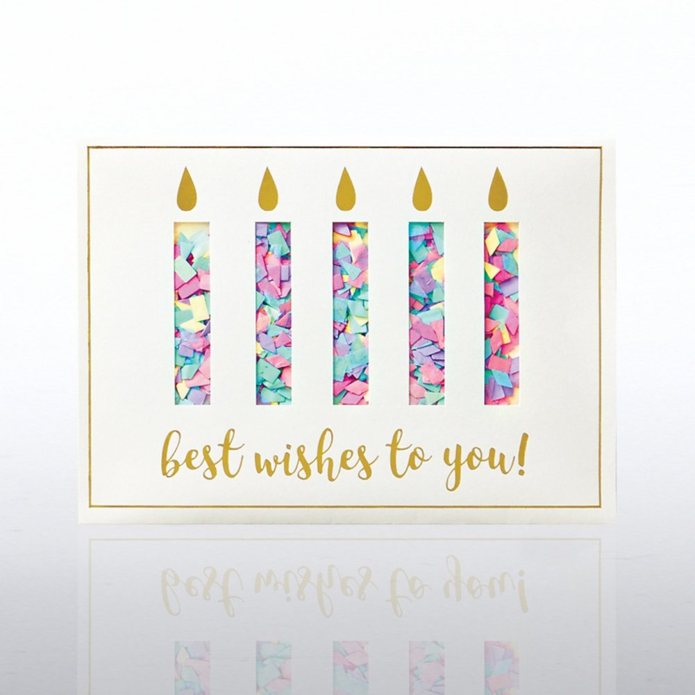 View larger image of Classic Celebrations - Confetti Cheer - Birthday Candles