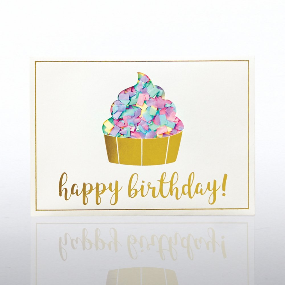 View larger image of Classic Celebrations - Confetti Cheer - Birthday Cupcake