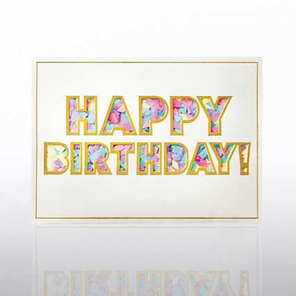 Classic Celebrations - Confetti Cheer - Happy Birthday!