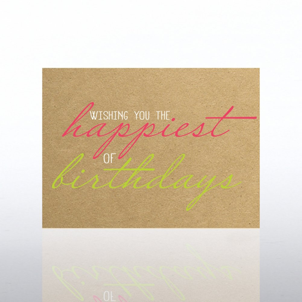 View larger image of Classic Celebrations Card -Wishing You the Happiest Birthday