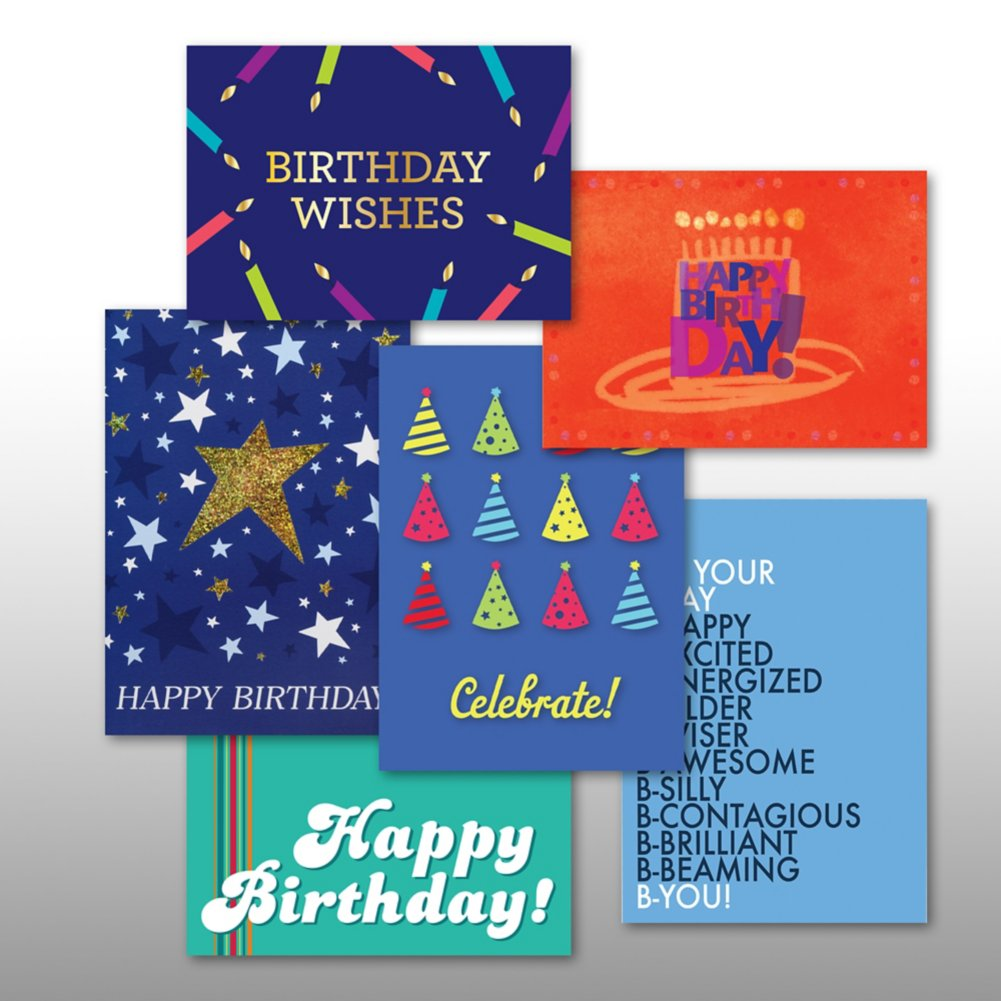 View larger image of Classic Celebrations - Birthday Hooray - Assortment
