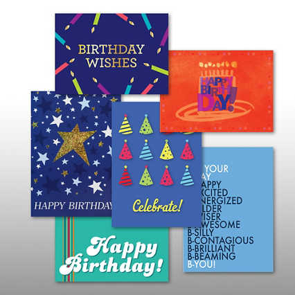 Classic Celebrations - Birthday Hooray - Assortment