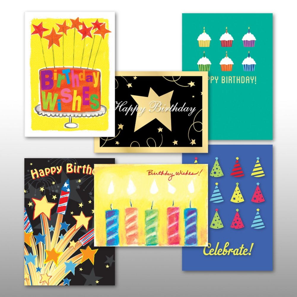 View larger image of Classic Celebrations - Birthday Cheers - Assortment