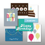 View larger image of Classic Celebrations - Birthday Merriment - Assortment