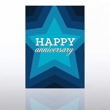 Classic Celebrations - Happy Anniversary Star Burst