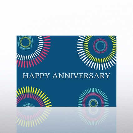 Classic Celebrations - Happy Anniversary Color Burst