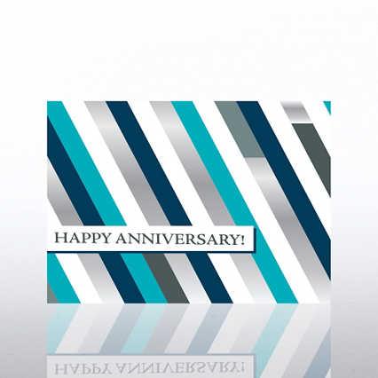 Classic Celebrations - Anniversary Bravo - Foil Stripes