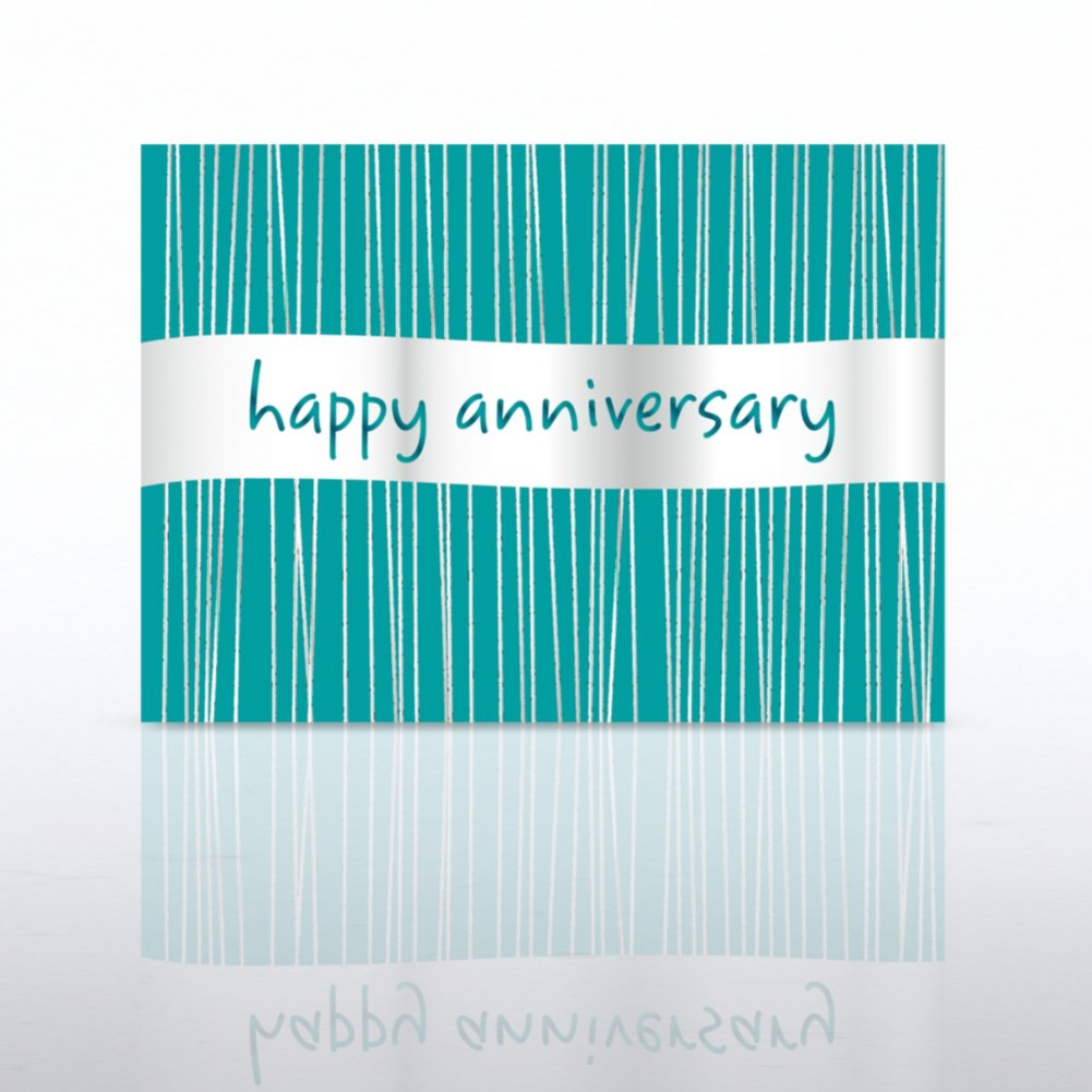 View larger image of Classic Celebrations - Happy Anniversary Silver Banner