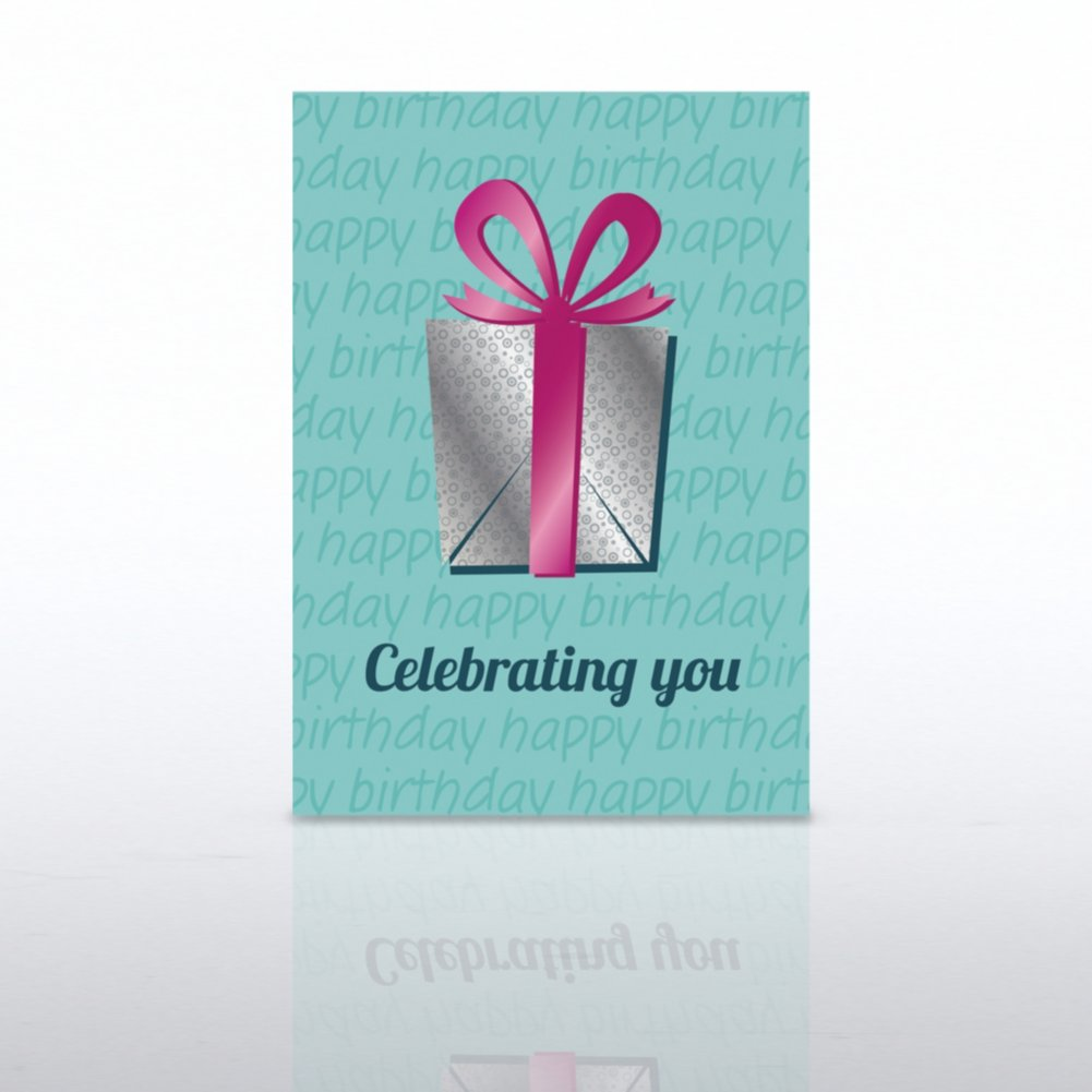 View larger image of Classic Celebrations - Happy Birthday Celebrating You Gift
