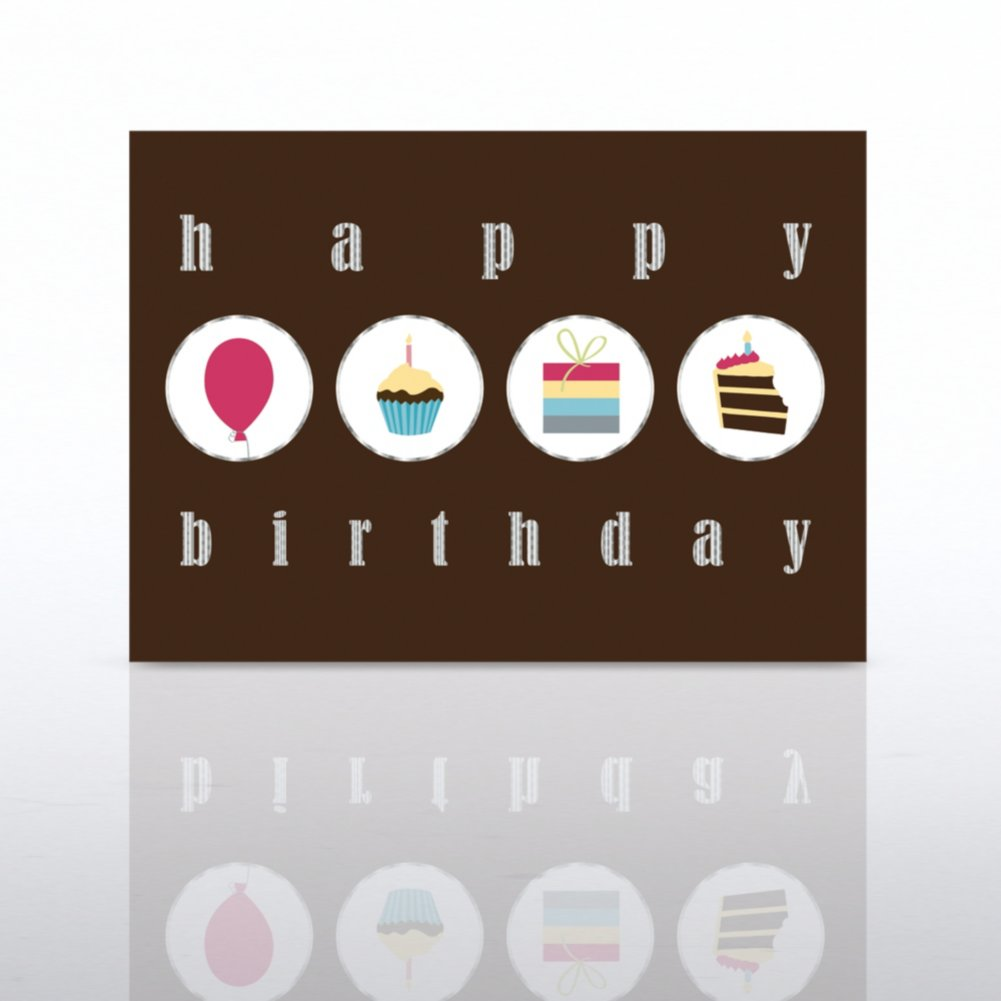 View larger image of Classic Celebrations - Happy Birthday Icon Circles