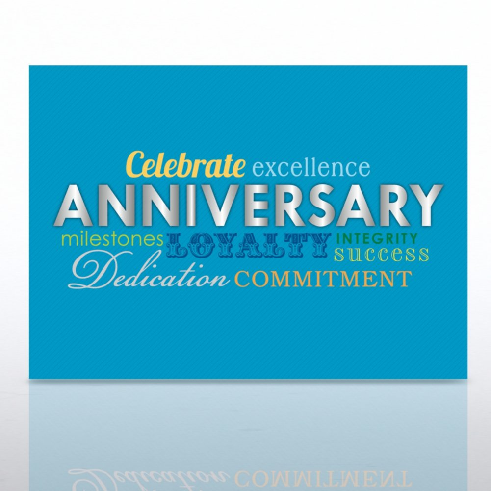 View larger image of Grand Events - Happy Anniversary - Words