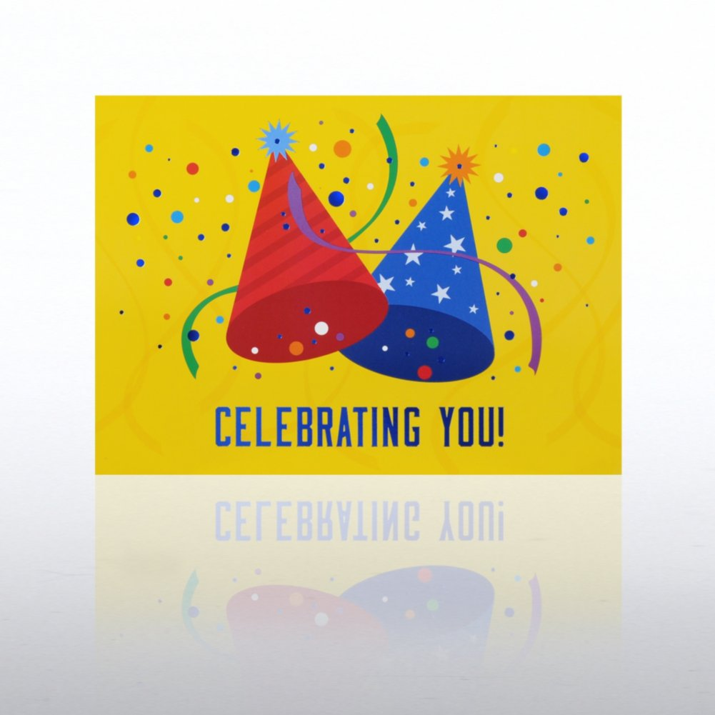 View larger image of Classic Celebrations - Happy Birthday - Party Hats