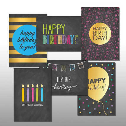 Classic Celebrations - Birthday Bash - Assortment