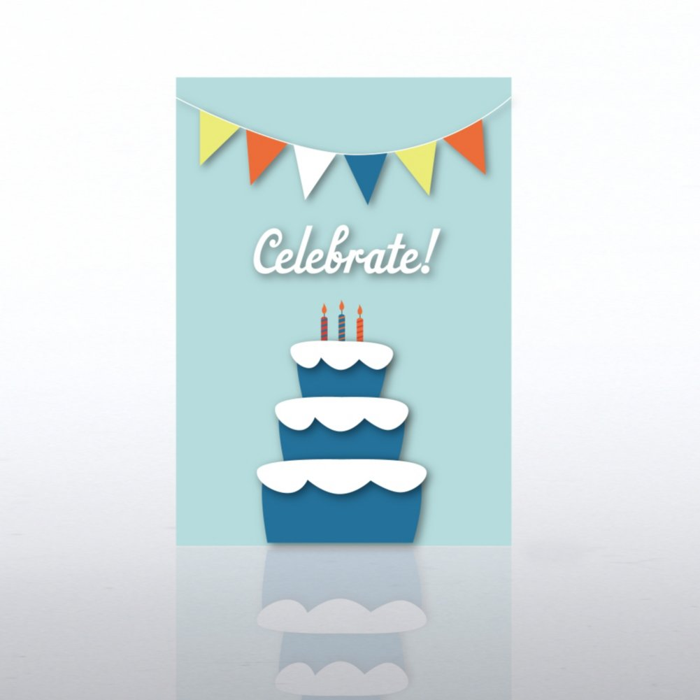 View larger image of Classic Celebrations - Celebrate Banner with Cake