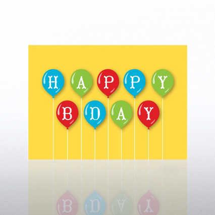 Classic Celebrations - Happy Birthday Balloons