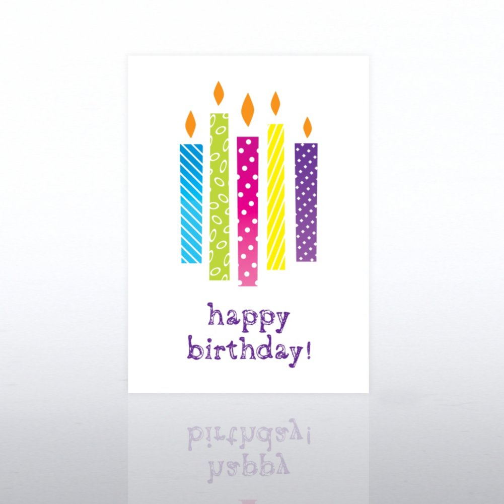 View larger image of Classic Celebrations - Happy Birthday Lighted Candles
