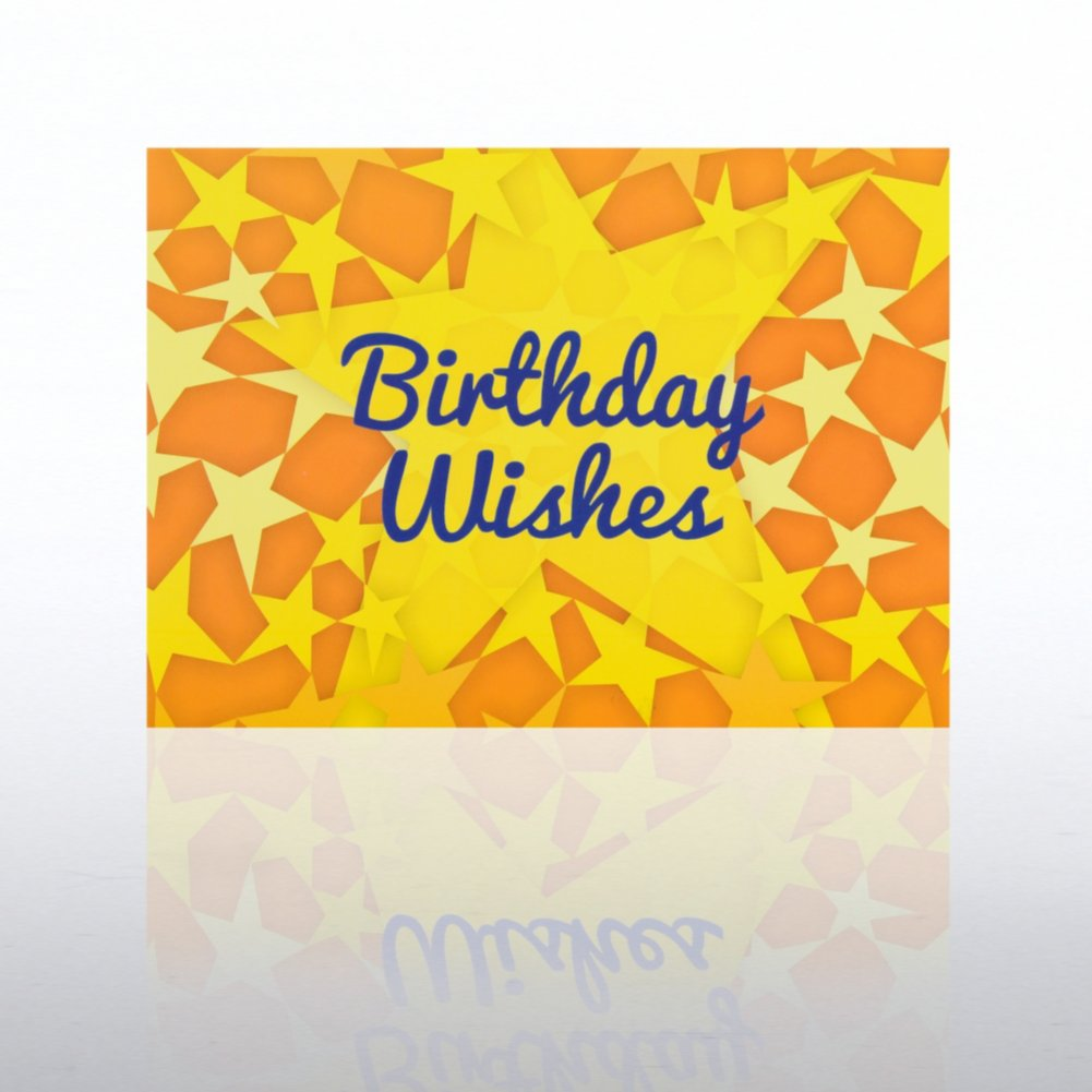 View larger image of Classic Celebrations - Happy Birthday - Yellow Stars