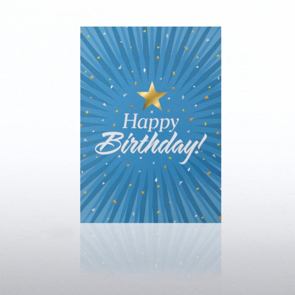Classic Celebrations - Happy Birthday - Burst