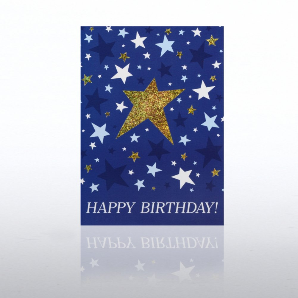 View larger image of Classic Celebrations - Happy Birthday - Shining Stars