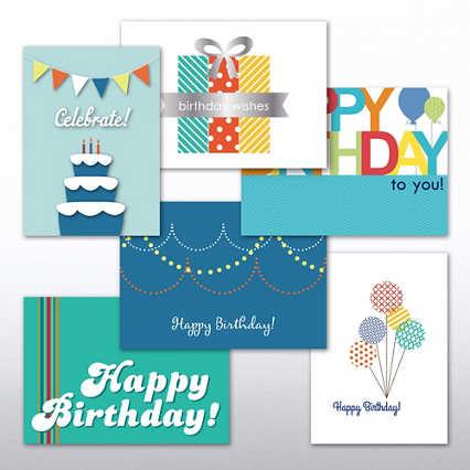 Classic Celebrations Assortment - Happy Birthday