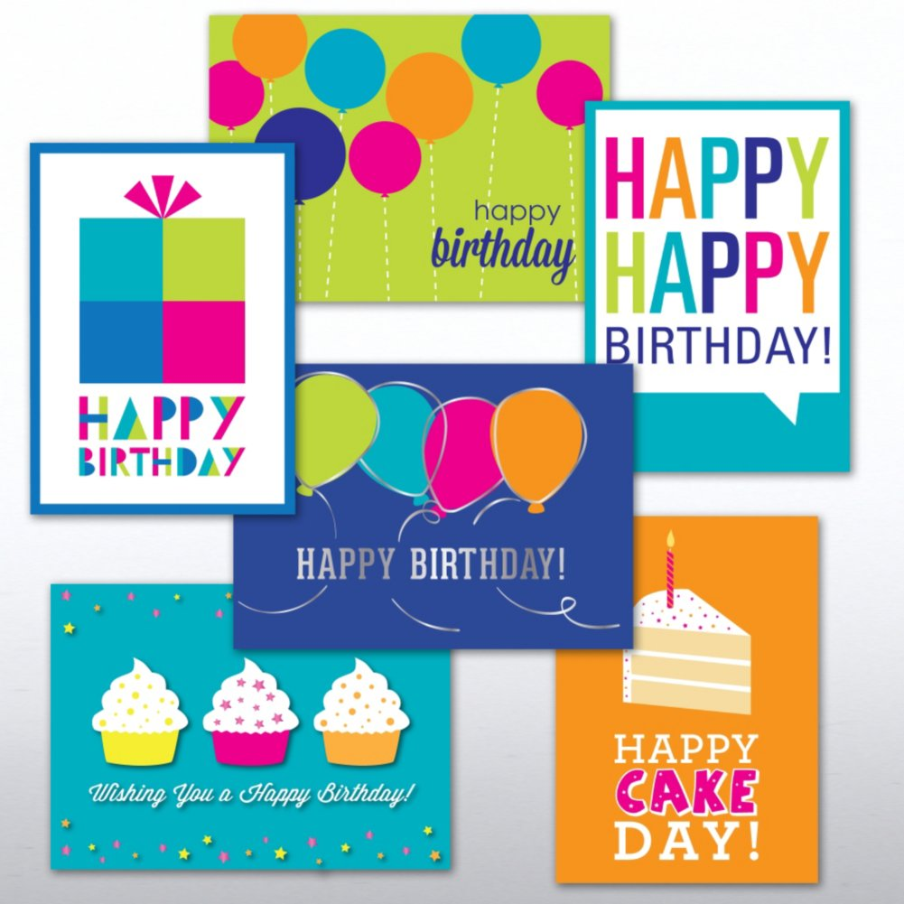 View larger image of Classic Celebrations Assortment - Birthday Brights
