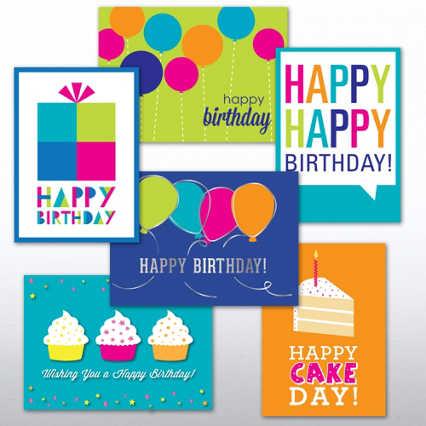 Classic Celebrations Assortment - Birthday Brights