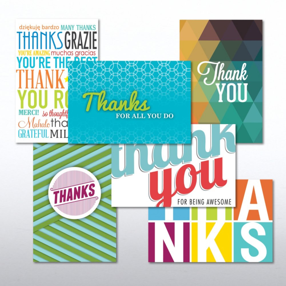View larger image of Value Greeting Card Assortment - Thank You