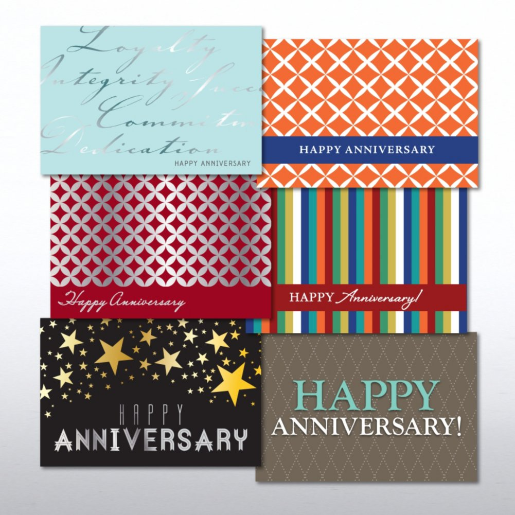 View larger image of Value Greeting Card Assortment - Happy Anniversary