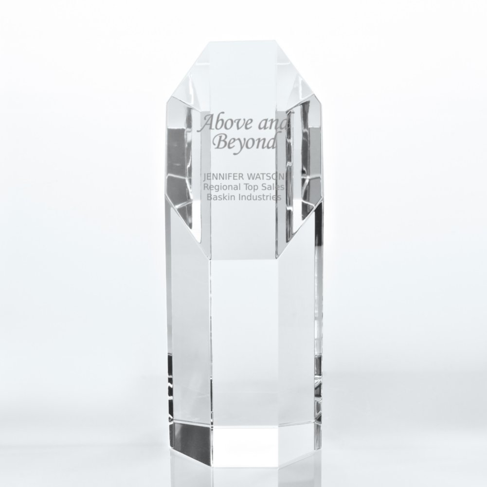 View larger image of Crystal Trophy - Octagon