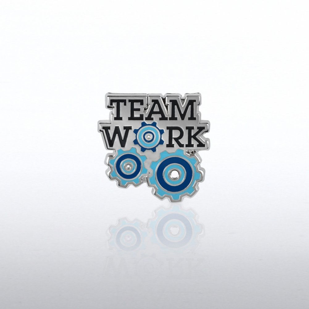 View larger image of Lapel Pin - Teamwork Gears