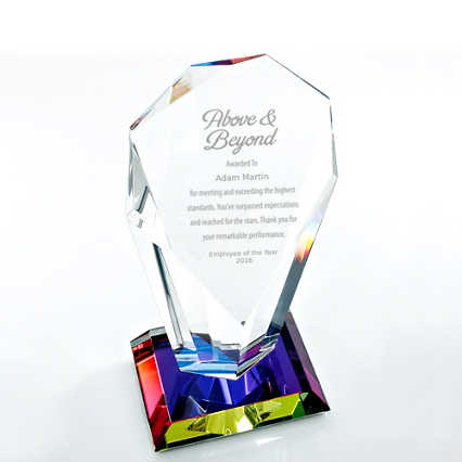 Vibrant Luminary Trophy - Spotlight