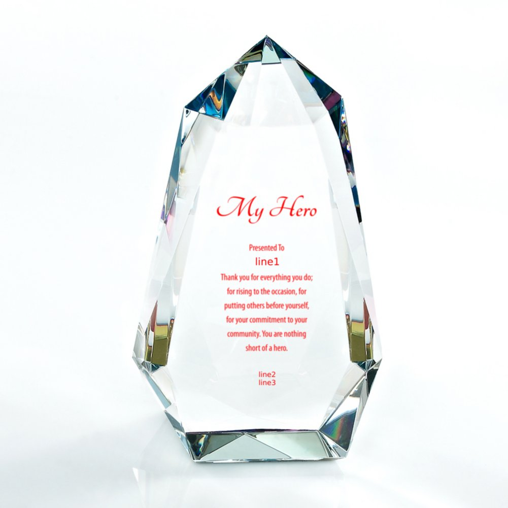 Vibrant Luminary Trophy - Prism