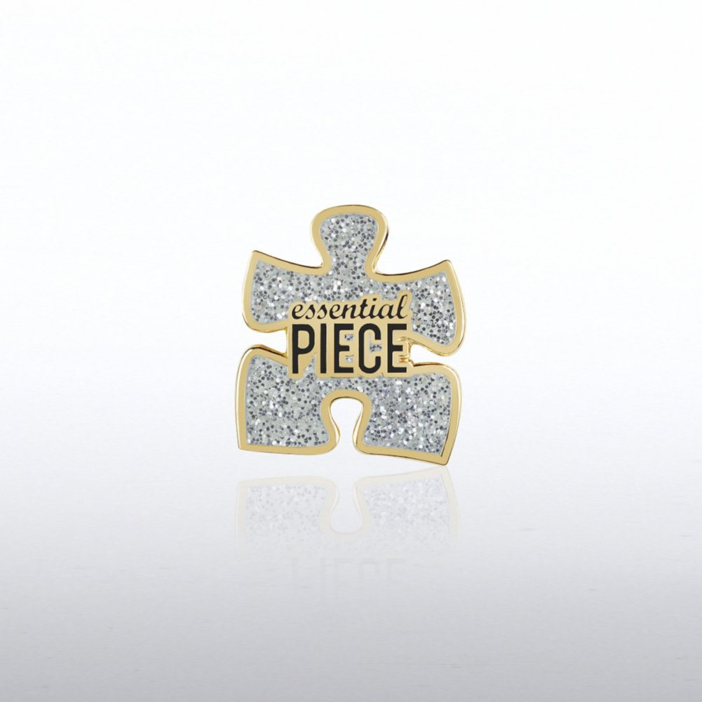 View larger image of Lapel Pin - Glitter Essential Piece