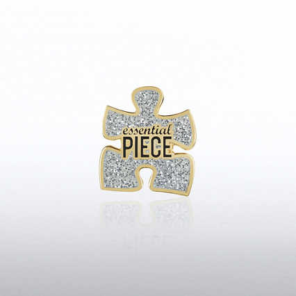 Lapel Pin - Glitter Essential Piece