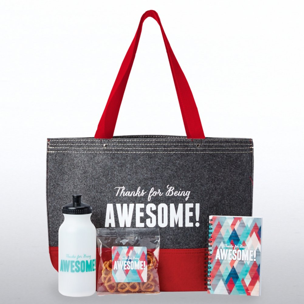 View larger image of Tote-ally Fantastic Gift Set - Thanks for Being Awesome