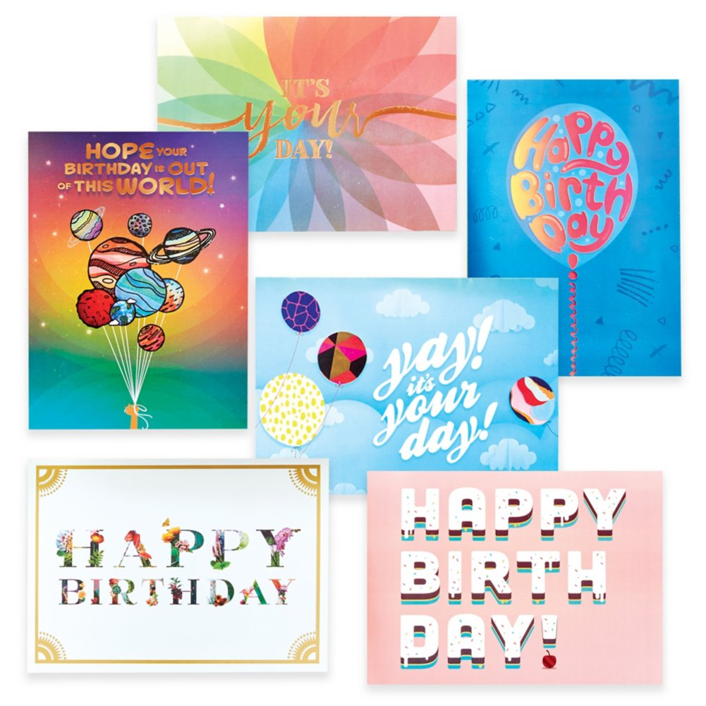View larger image of Classic Celebrations - It's Your Birthday - Foil Accents