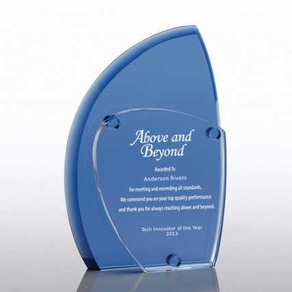 Crystal Eclipse Award - Blue