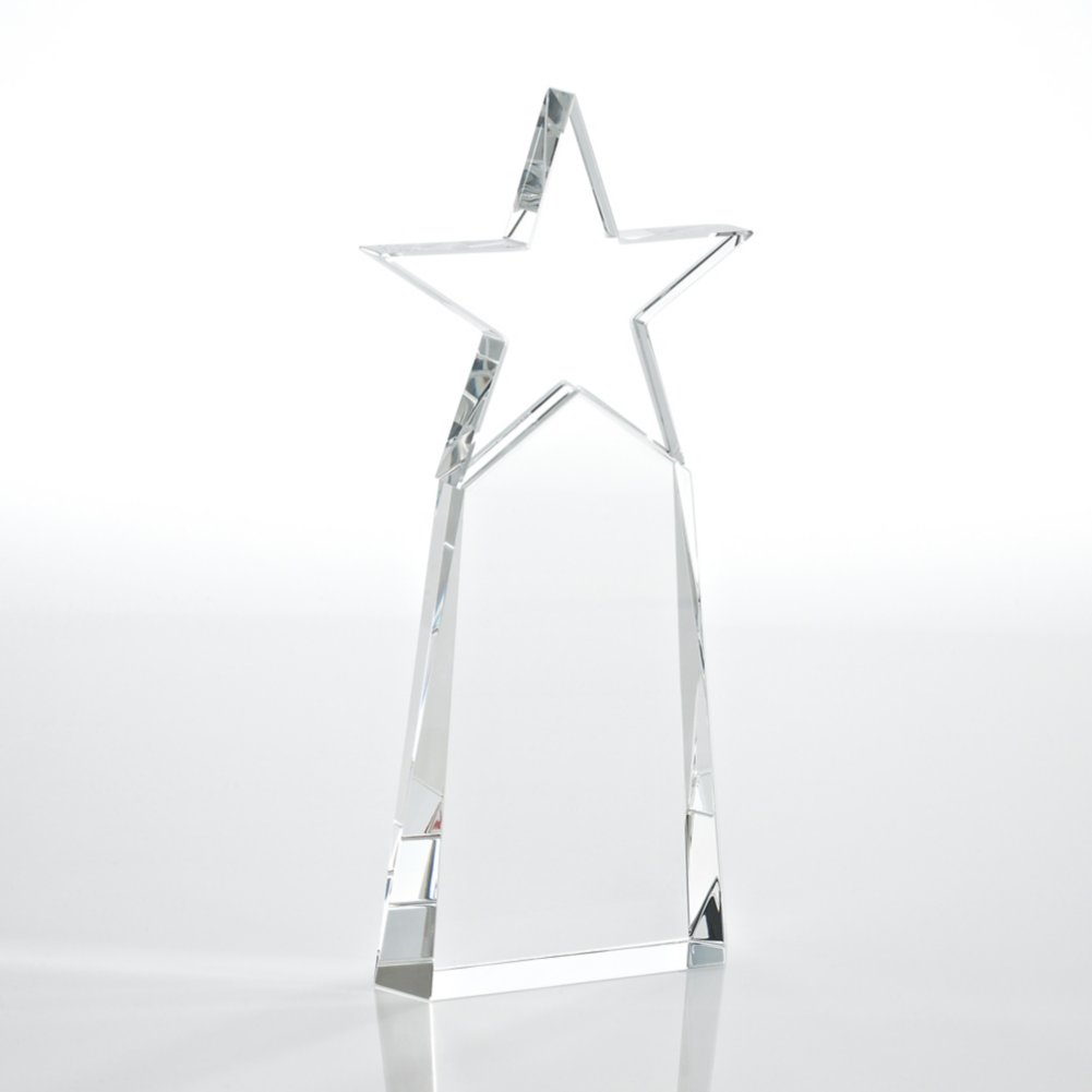 View larger image of Crystal Star Pinnacle Trophy - Clear
