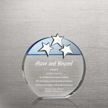 Triple Star Award - Blue