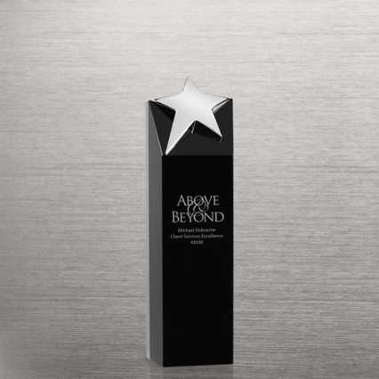 Black Crystal Trophy - Tower Star