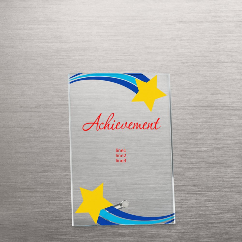 View larger image of Mini Acrylic Award Plaque - Shooting Star Frame