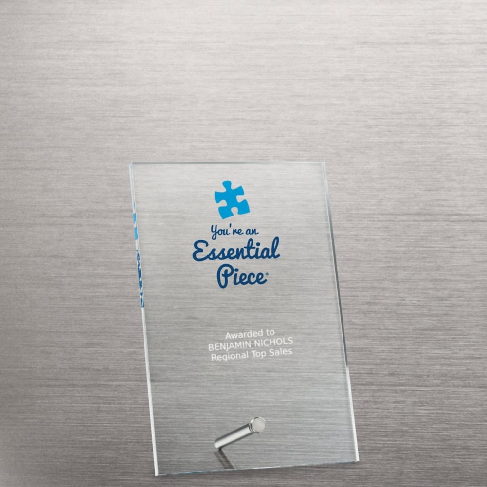 View larger image of Mini Acrylic Award Plaque - Essential Piece