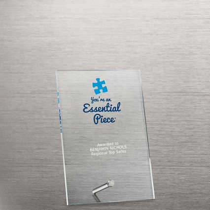 Mini Acrylic Award Plaque - Essential Piece