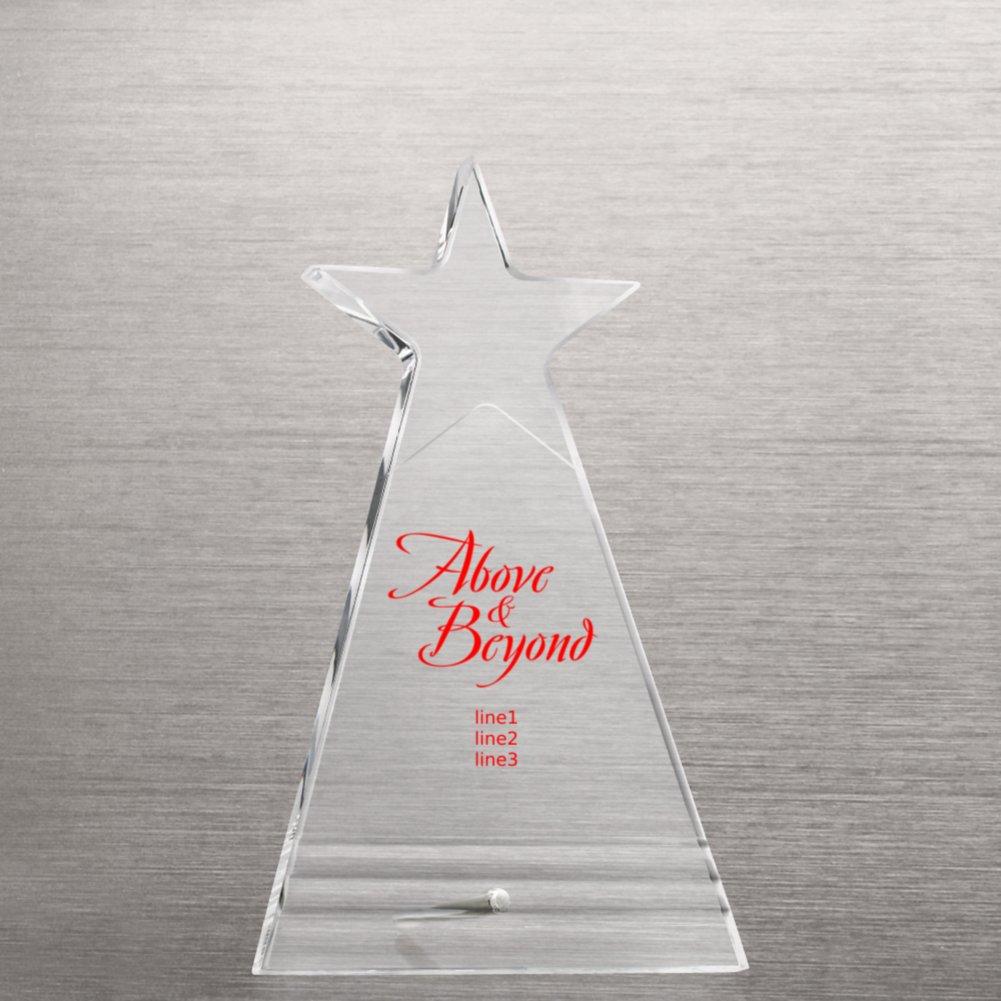 Shining Star Acrylic Award Plaque