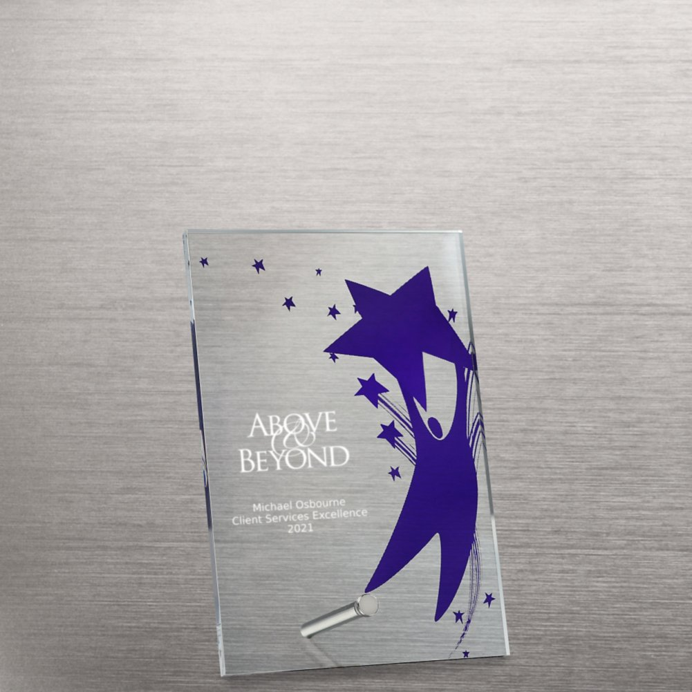 View larger image of Mini Acrylic Award Plaque - Team Player